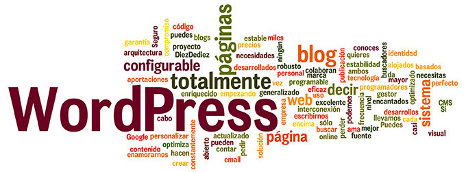 Desarrrollos de WordPress. Páginas web y blogs corporativos o personales.